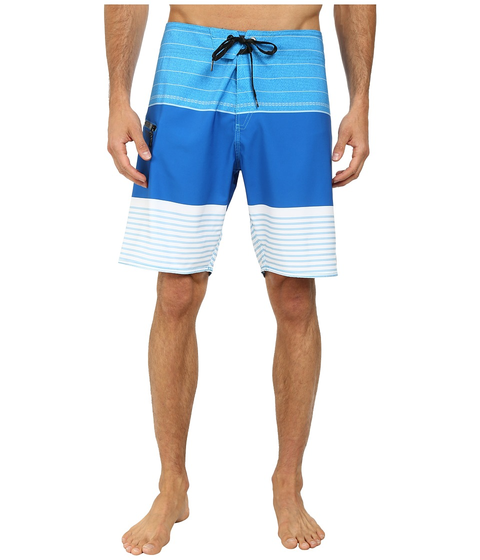 Volcom - Horizon Mod Boardshort (Cyan Blue) Men's Swimwear