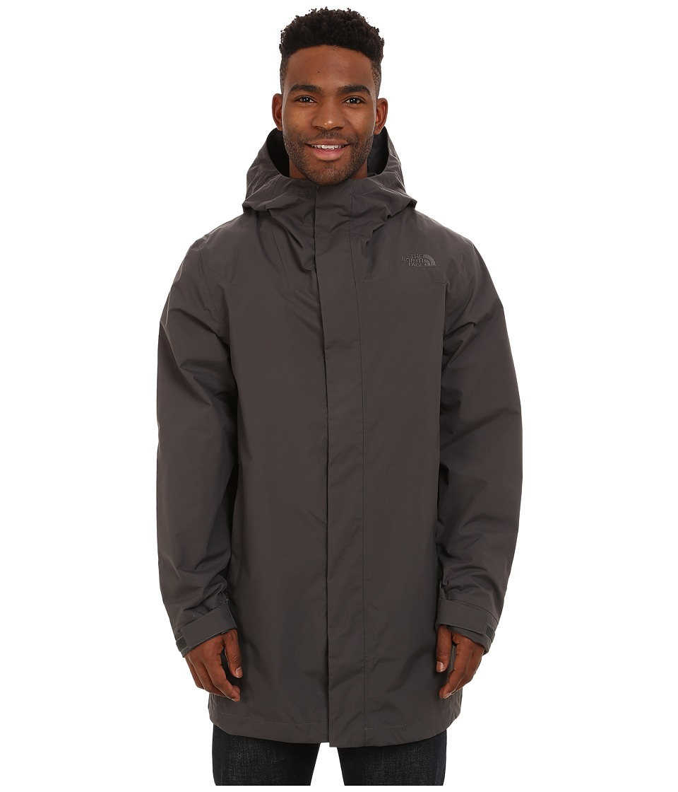 The North Face - El Misti Trench Coat (Graphite Grey) Men's Coat