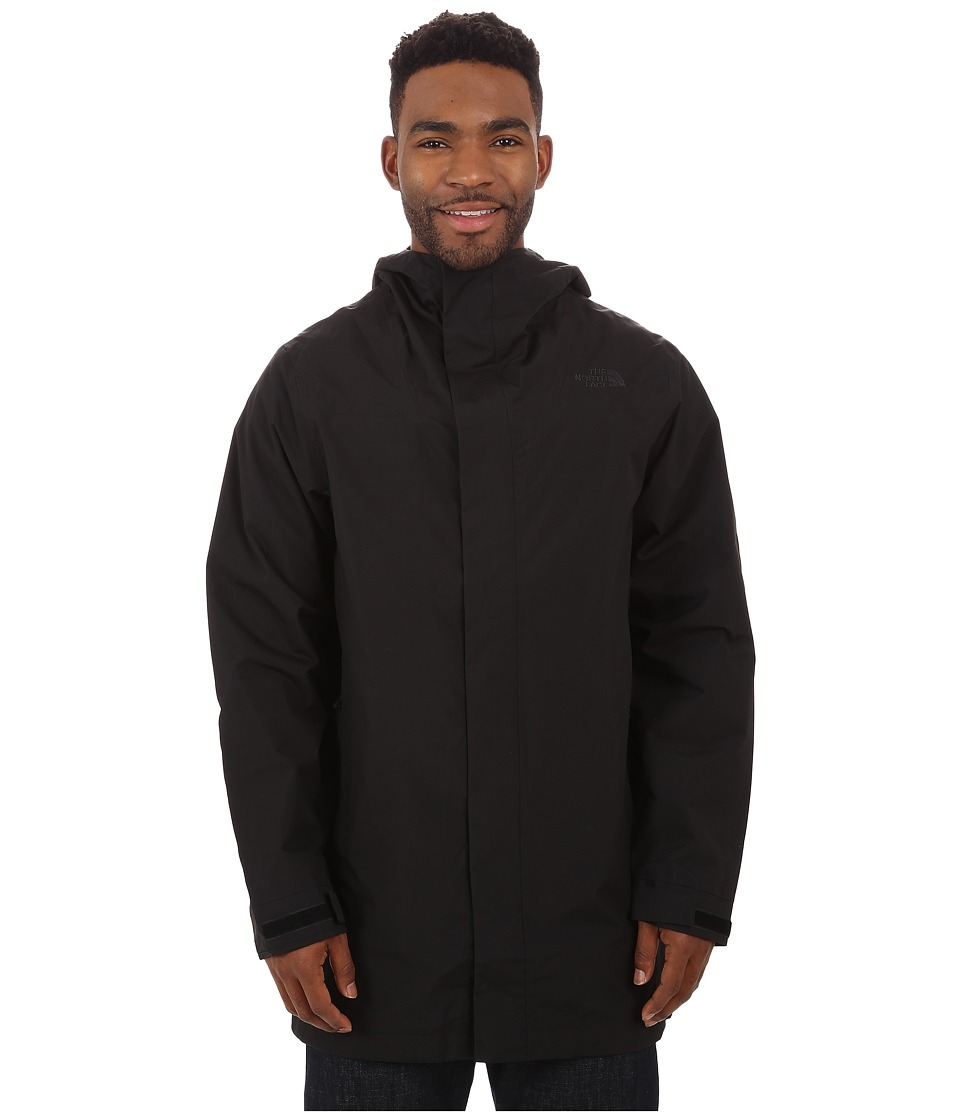 The North Face - El Misti Trench Coat (TNF Black) Men's Coat plus size,  plus size fashion plus size appare