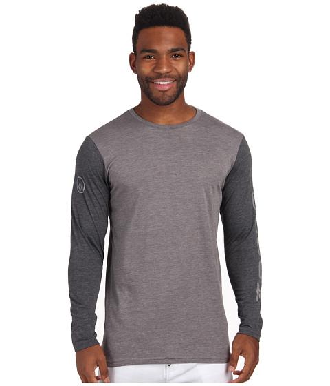 Volcom - Sleever Surf Tee (Dark Grey) Men