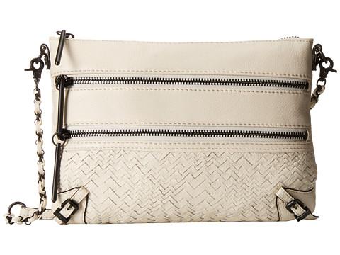 Elliott Lucca - Bali '89 3 Zip Clutch (Linen Devi) Clutch Handbags