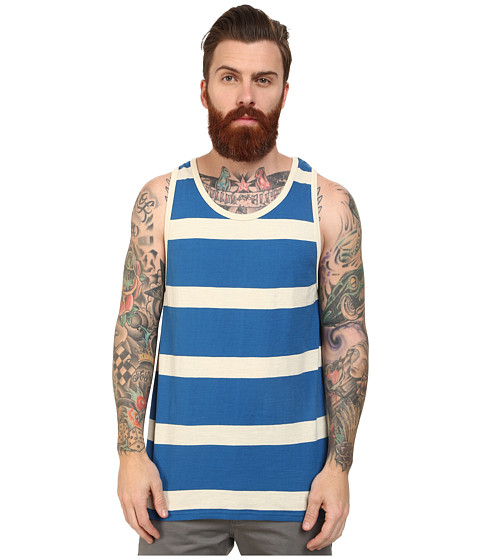 Volcom - Laconia Tank (Bold Blue) Men's Sleeveless