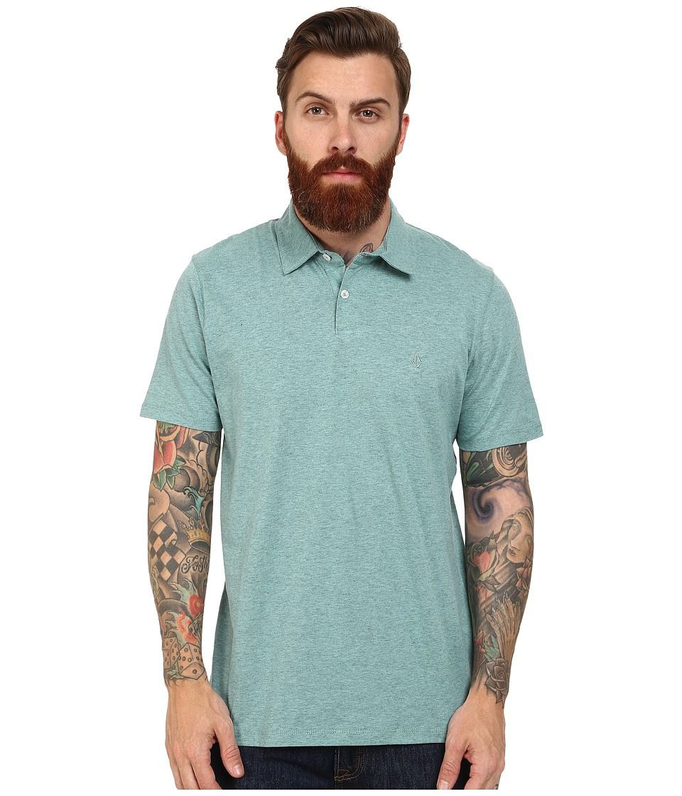 Volcom - Wowzer Polo (Artic Blue) Men's Short Sleeve Knit