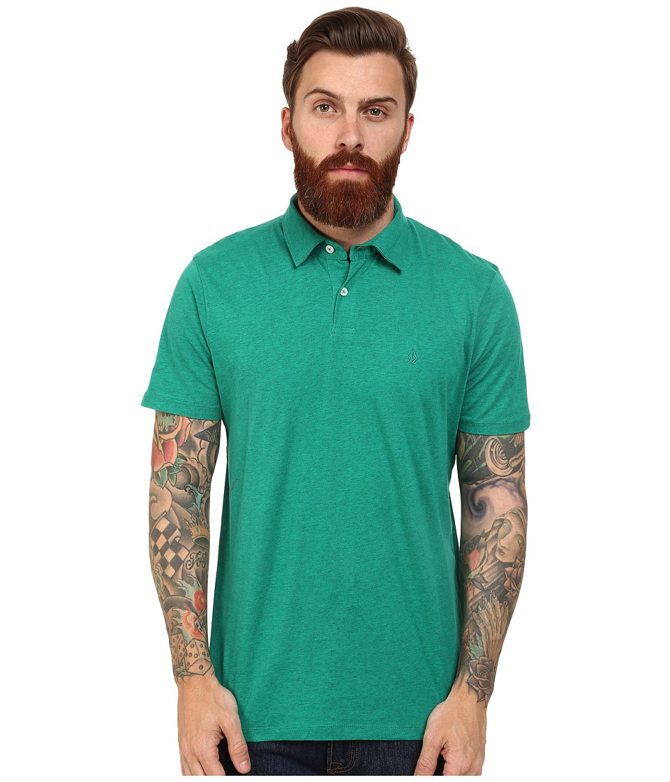 Volcom - Wowzer Polo (Lawn Green) Men