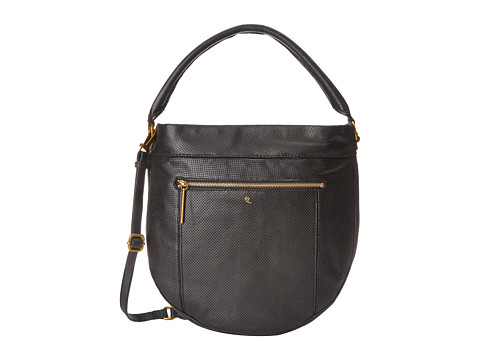 Elliott Lucca - Faro City Hobo (Black Perf) Hobo Handbags