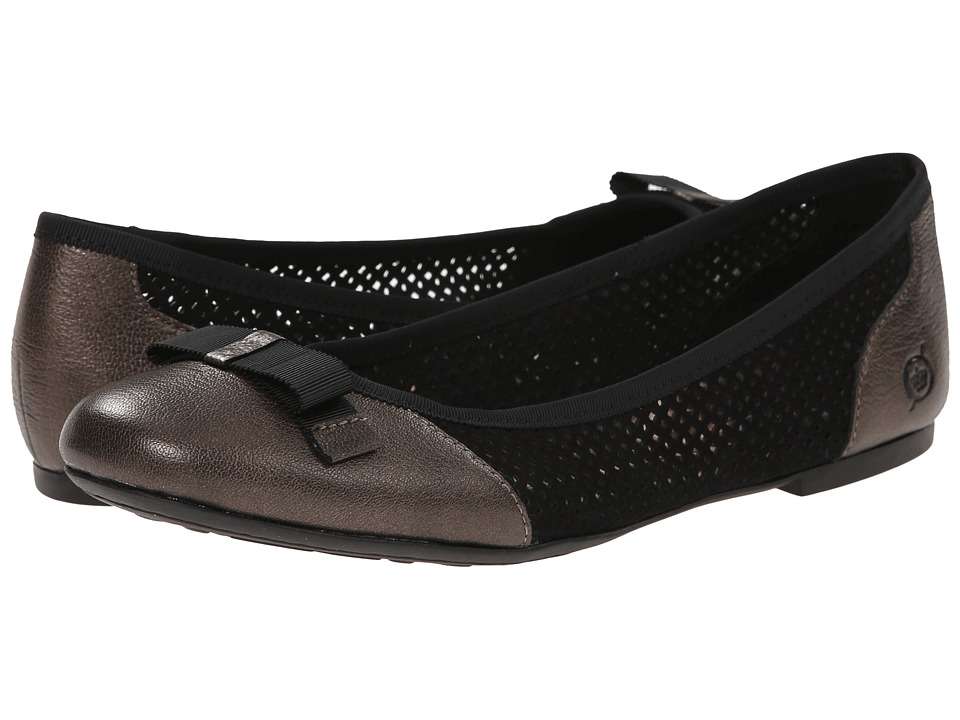 Born - Mardea (Black/Bronze Combo) Women's Shoes