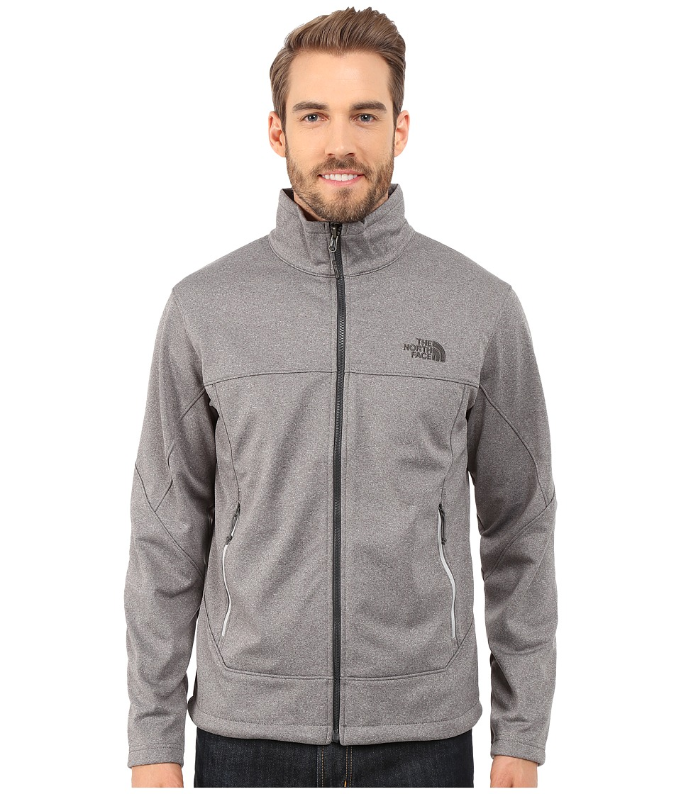 The North Face - Canyonwall Jacket (High Rise Grey Heather/High Rise Grey Heather) Men's Coat