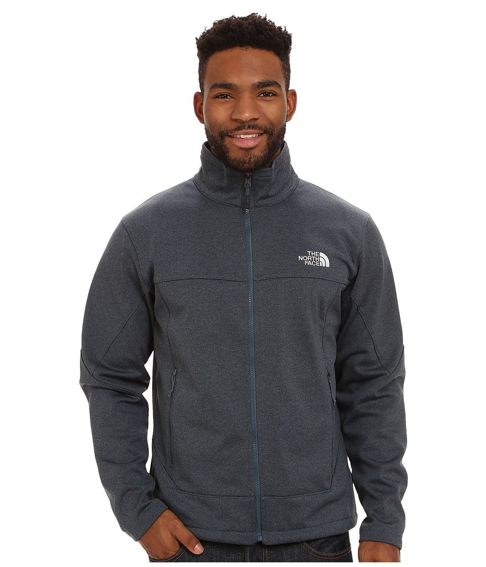 The North Face - Canyonwall Jacket (Conquer Blue Heather/Conquer Blue Heather) Men's Coat