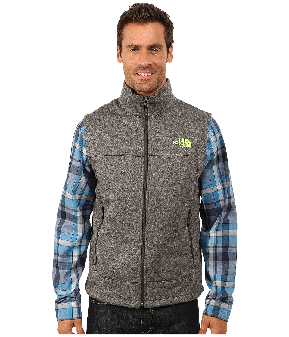 The North Face - Canyonwall Vest (Asphalt Grey Heather) Men's Vest