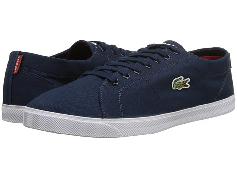 Lacoste - Marcel WD (Dark Blue/Red) Men's Shoes