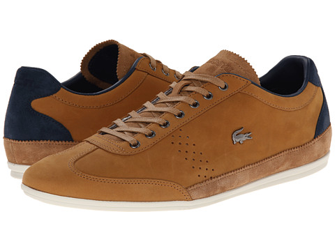 Lacoste - Misano 35 (Tan) Men's Shoes