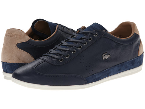 Lacoste - Misano 34 (Navy) Men's Shoes
