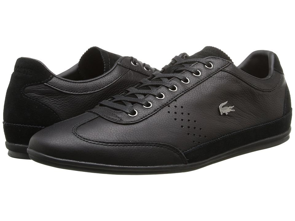 Lacoste - Misano 34 (Black) Men's Shoes