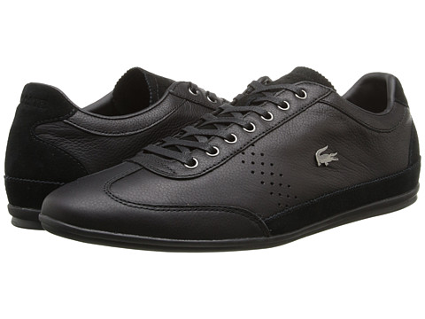 Lacoste - Misano 34 (Black) Men's Shoes