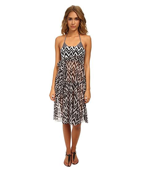 Athena - Sierra Multi Dress Cover-Up (Black) Women