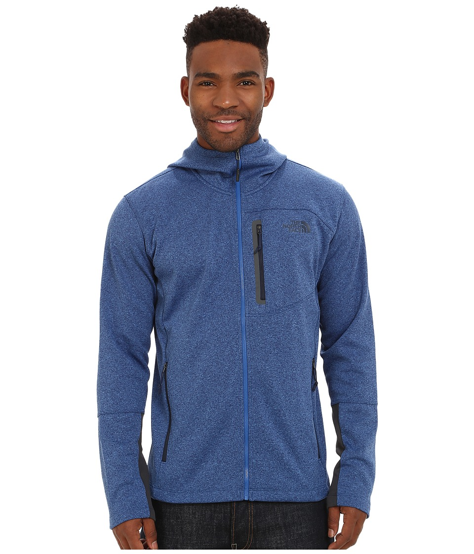 The North Face - Canyonlands Hoodie (Monster Blue Heather) Men's Sweatshirt