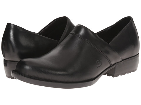 Born - Marka (Black Full Grain) Women's Shoes