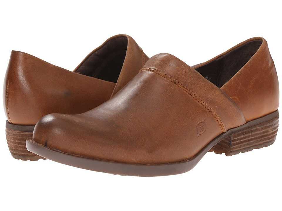 Born - Marka (Russet (Tan) Full Grain) Women's Shoes