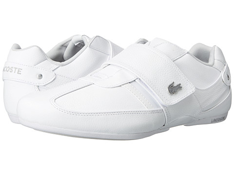 Lacoste - Protected LX (White/Light Grey) Men's Shoes