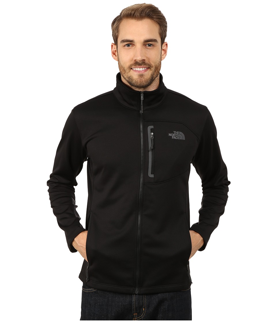 The North Face - Canyonlands Full Zip Sweatshirt (TNF Black) Men's Coat