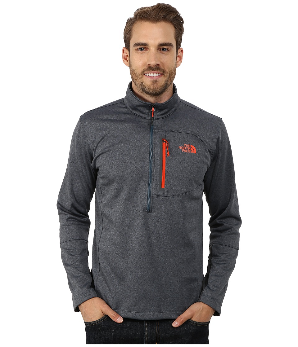 The North Face - Canyonlands 1/2 Zip Pullover (Conquer Blue Heather) Men