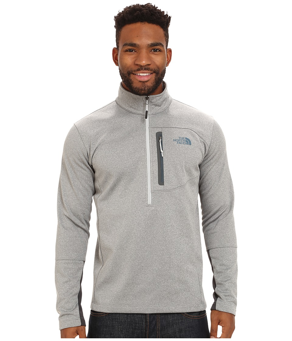 The North Face - Canyonlands 1/2 Zip Pullover (High Rise Grey Heather) Men's Sweatshirt
