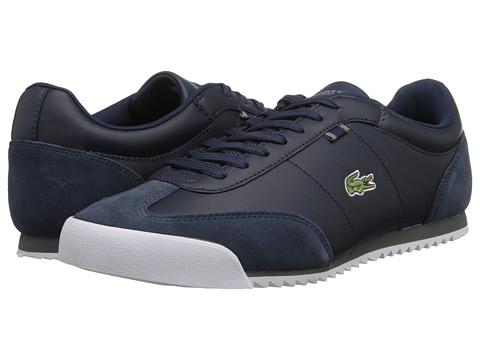Lacoste - Romeau HTB (Dark Blue/Dark Grey) Men's Shoes