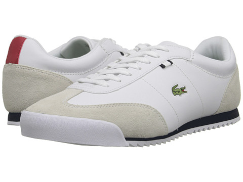 Lacoste - Romeau HTB (White/Dark Blue) Men