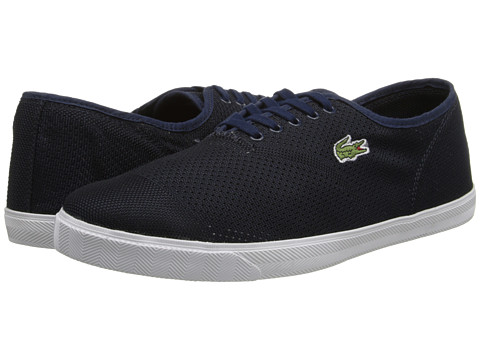 Lacoste - Rene II Mesh PIQ (Dark Blue/Dark Blue) Men's Shoes