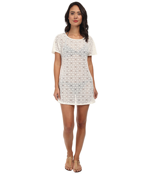 Athena - Gazebo Dress Cover-Up (White) Women's Swimwear