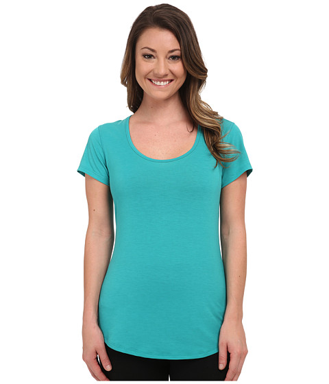 Lucy - S/S Workout Tee (Meadow) Women