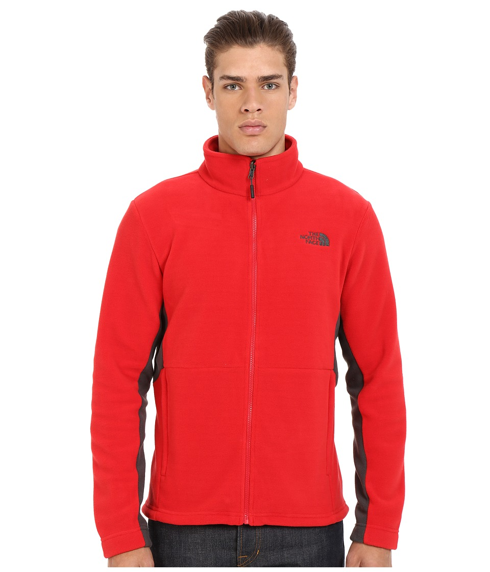 The North Face - Khumbu 2 Jacket (TNF Red/Asphalt Grey) Men's Coat