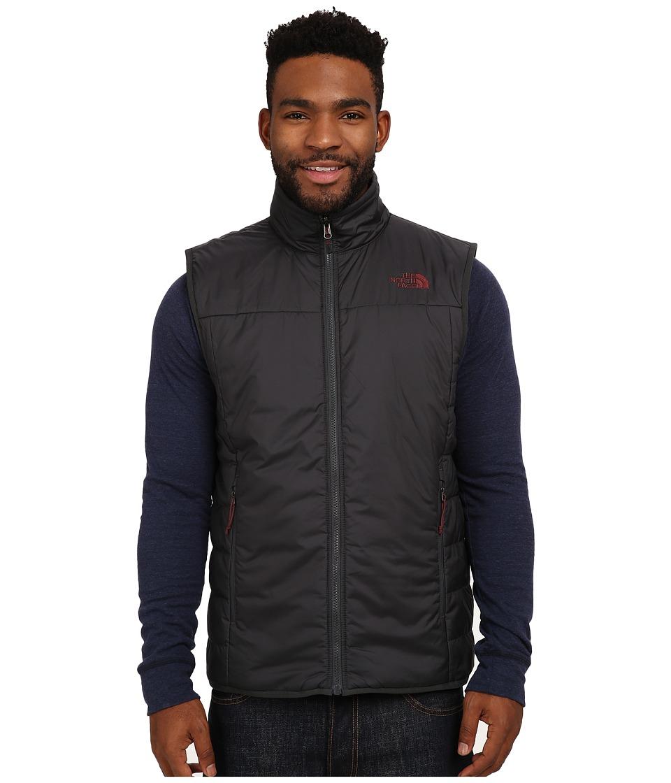 The North Face - Trinity Reversible Vest (Asphalt Grey/Sequoia Red) Men