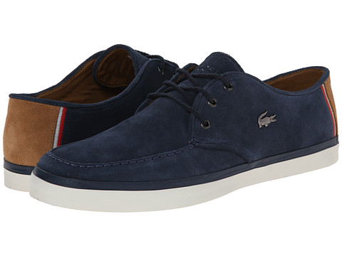 Lacoste - Sevrin 7 (Navy) Men's Shoes