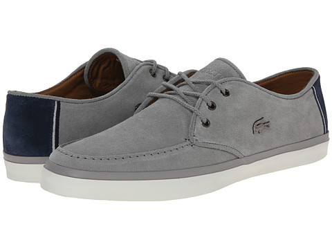 Lacoste - Sevrin 7 (Grey) Men's Shoes