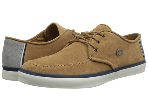 Lacoste - Sevrin 7 (Light Brown) Men's Shoes