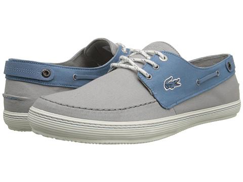 Lacoste - Sumac 8 (Light Grey/Blue) Men