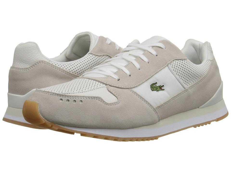 Lacoste - Trajet SL (Off White) Men's Shoes