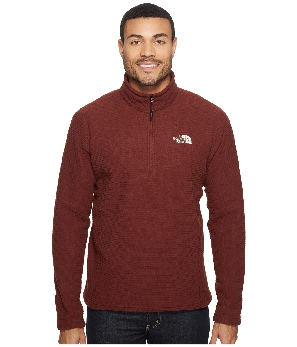 The North Face - SDS 1/2 Zip Pullover (Sequoia Red) Men's Long Sleeve Pullover