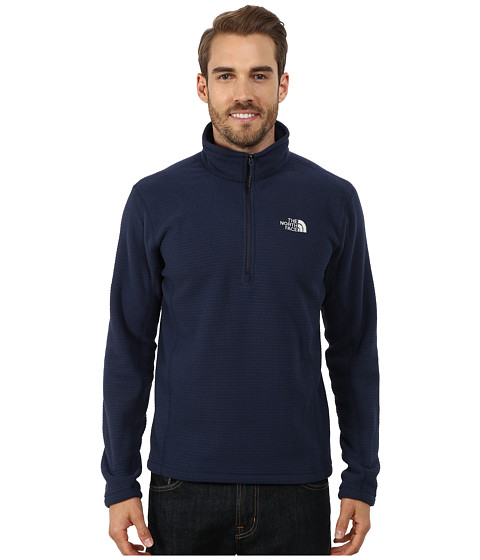 The North Face - SDS 1/2 Zip Pullover (Cosmic Blue) Men's Long Sleeve Pullover