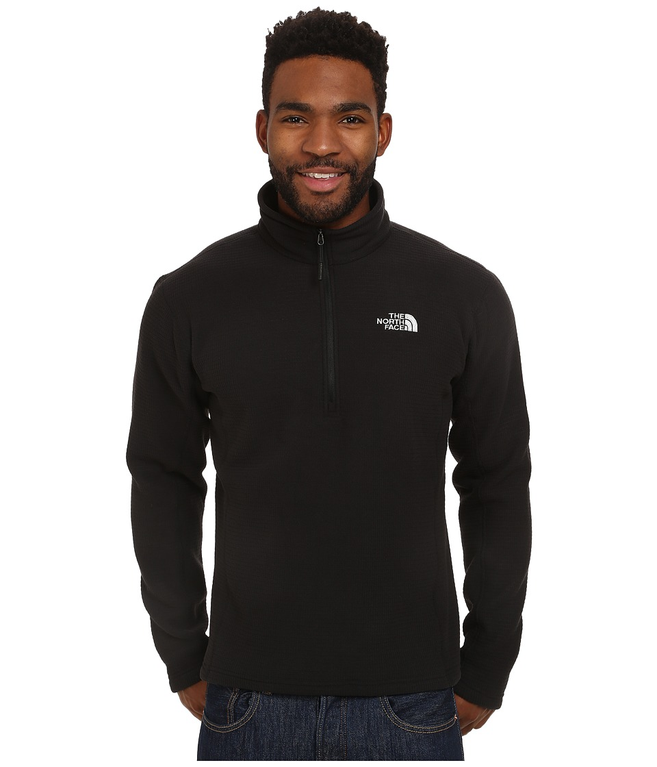 The North Face - SDS 1/2 Zip Pullover (TNF Black) Men's Long Sleeve Pullover