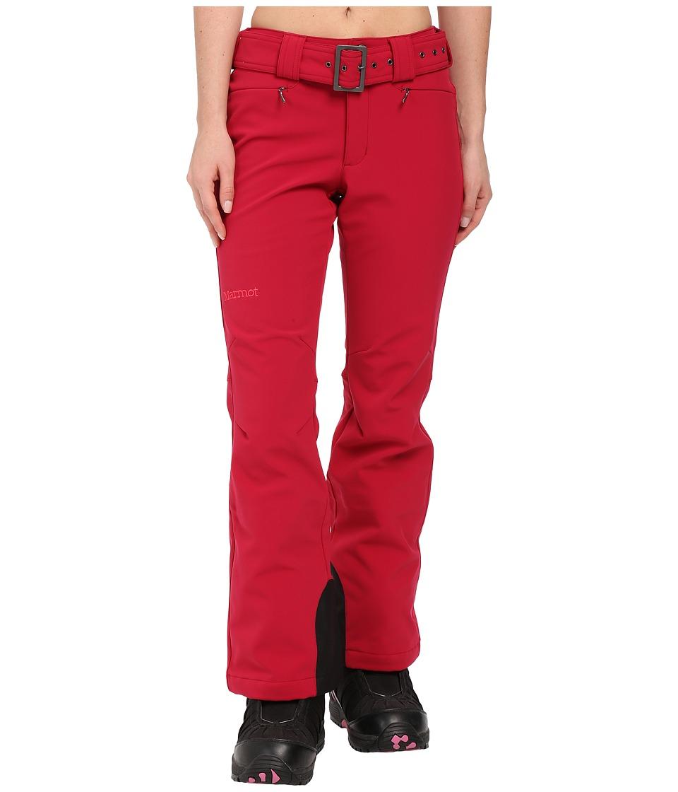 Marmot - Davos Pant (Dark Raspberry) Women's Clothing