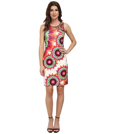 Desigual - Adriana Knitted Sleeveless Dress (Pink) Women's Dress