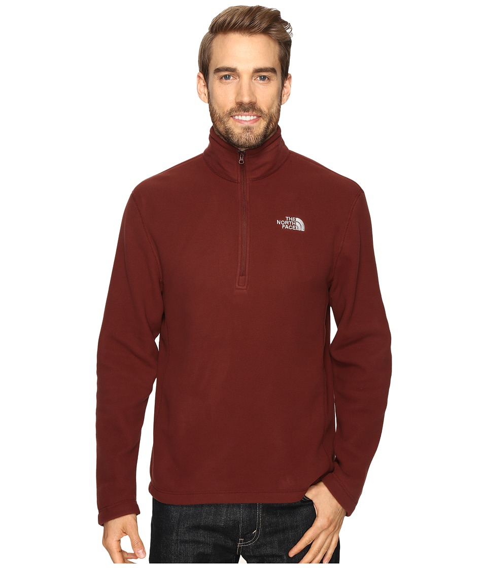 The North Face - TKA 100 Glacier 1/4 Zip (Sequoia Red) Men's Sweatshirt