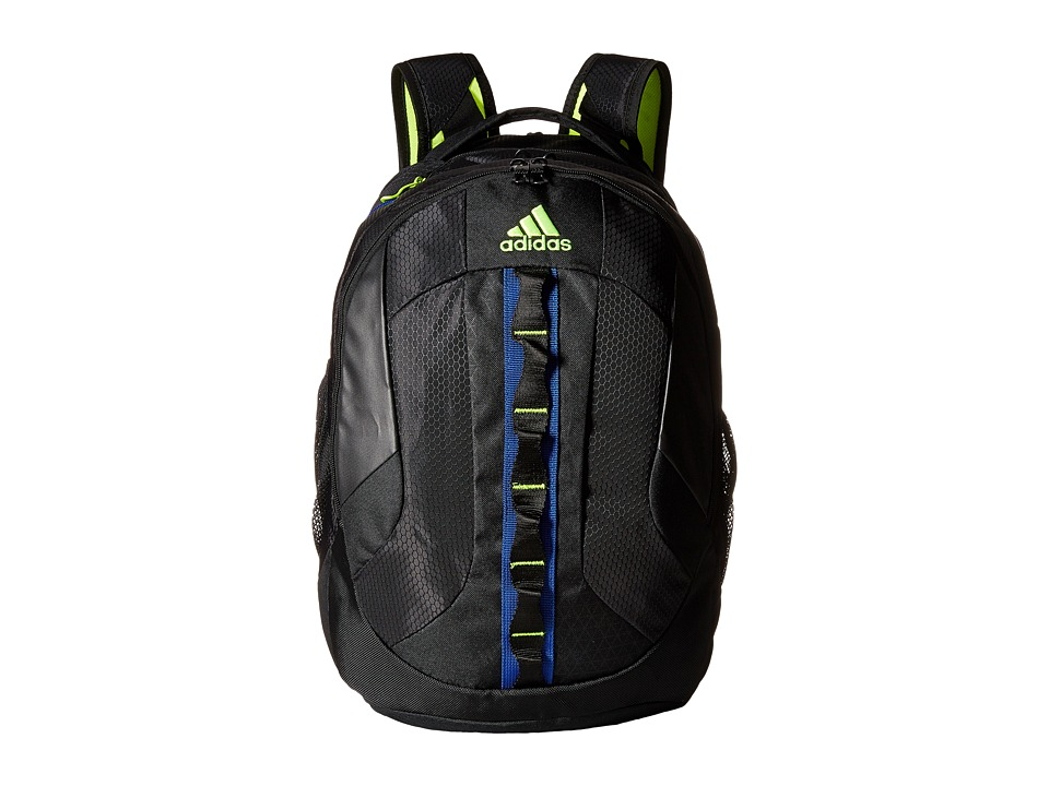 adidas - Prime Backpack (Black/Bold Blue/Solar Yellow) Backpack Bags