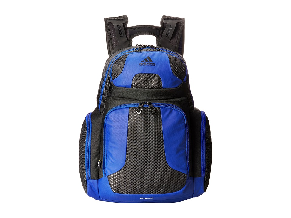 Image of adidas - CLIMACOOL Strength Backpack (Black/Bold Blue) Backpack Bags