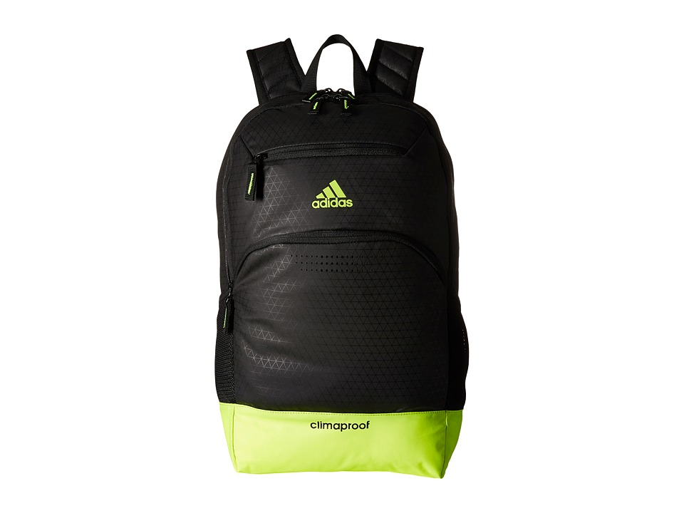 adidas - Rumble Backpack (Black/Solar Yellow) Backpack Bags
