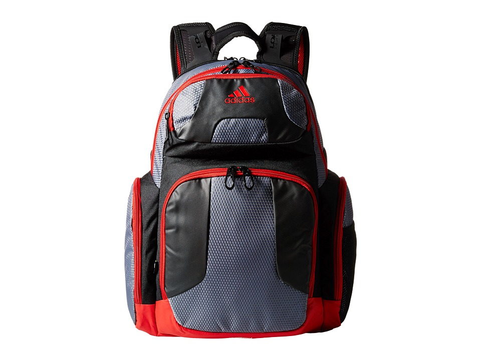 adidas - CLIMACOOL Strength Backpack (Onix/Scarlet) Backpack Bags