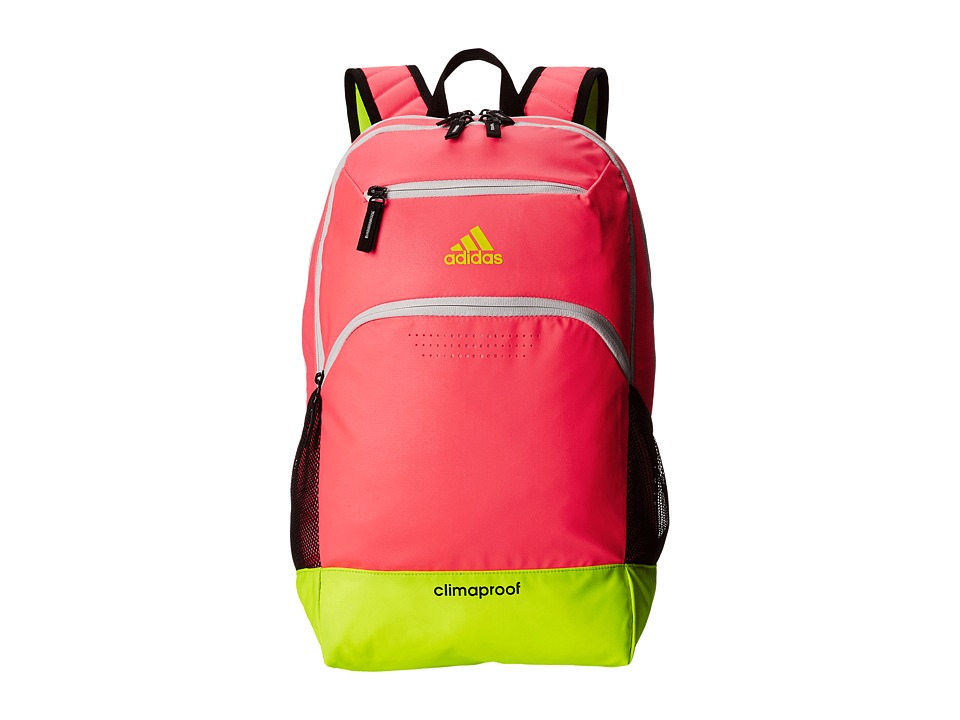 adidas - Rumble Backpack (Flash Red/Solar Yellow) Backpack Bags