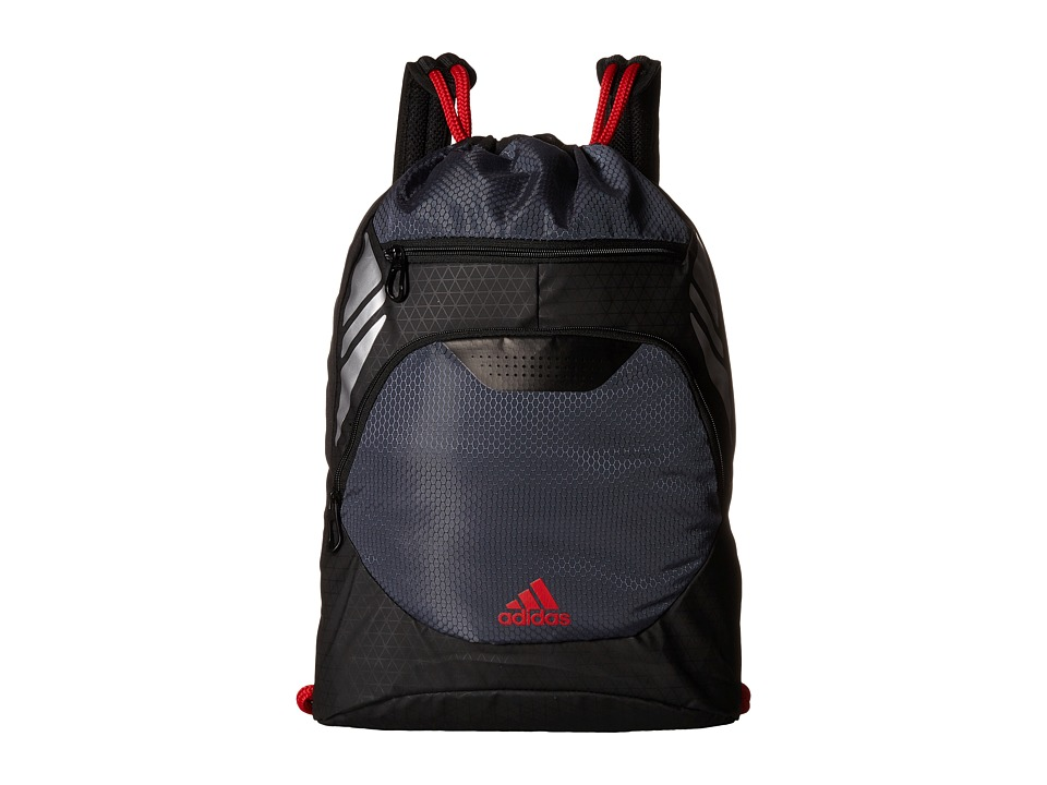 adidas - Ultimate Menace II Sackpack (Onix/Scarlet) Bags